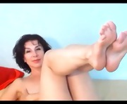 Brunette Milf Shows Her Sexy Feet