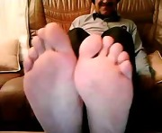 Straight guys feet on webcam #505