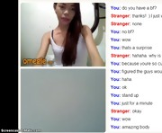 Cute Asian Webcam Girl Flashes Bra and Underwear on Omegle