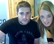 Unbridled British Blonde Fucks On Webcam british euro brit european cumshots swallow