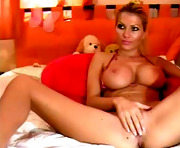 blonde xxx masturbating on webcam www.SexAtCams.com