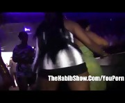 Club Footage Booty Twirking ass shaking