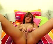 Naughty Sweetheart And Her Pink Sextoy