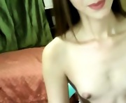 Hot Asian Shemale Masturbates and Cums