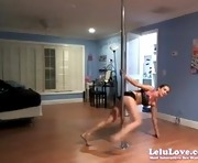 WEBCAM Poledancing Stripping Booty Shaking
