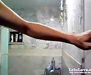 Lelu LoveWEBCAM Shower Shaving Masturbating