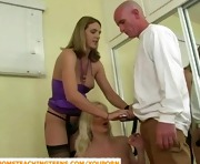 Teen taught how to be a slut by stepmom